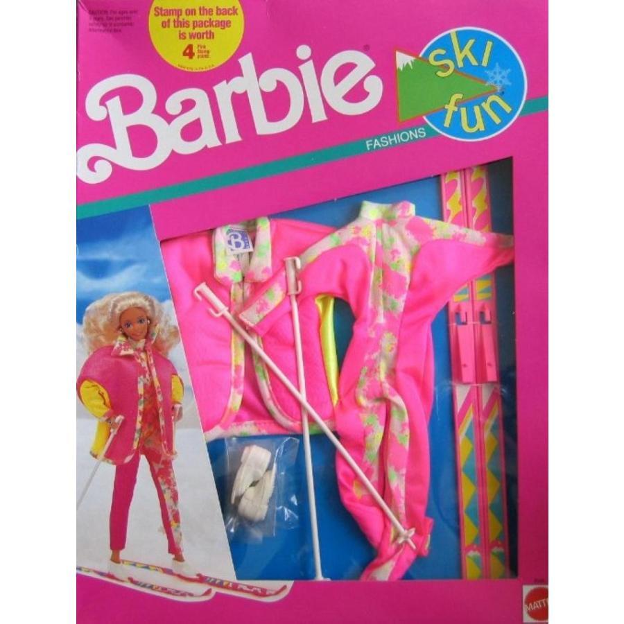 バービー人形 おもちゃ 着せ替え Barbie Ski Fun Fashions w Accessories (1991) 輸入品