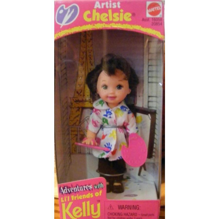 バービー人形 着せ替え おもちゃ Barbie- Kelly Doll Artist Chelsie 輸入品
