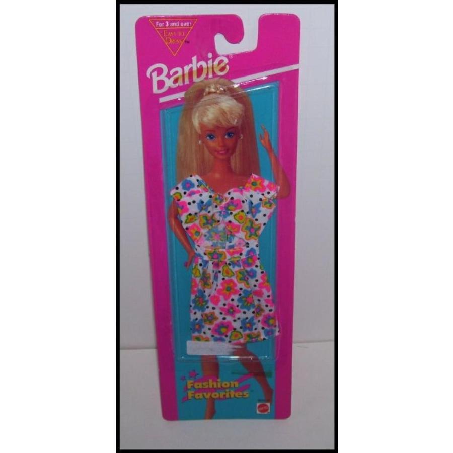 バービー人形 着せ替え おもちゃ Barbie Doll Fashion Favorites Flower Print Top & Skirt Clothing Set 輸入品