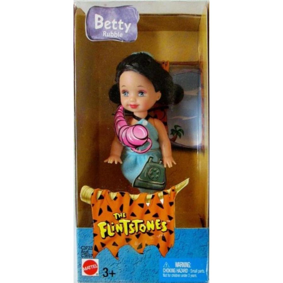 バービー人形 着せ替え おもちゃ Barbie's Sister Kelly as Betty Rubble 輸入品