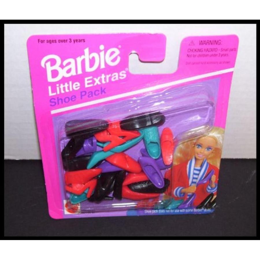 バービー人形 着せ替え おもちゃ Barbie Doll Lil' Extras Shoe Pack 輸入品