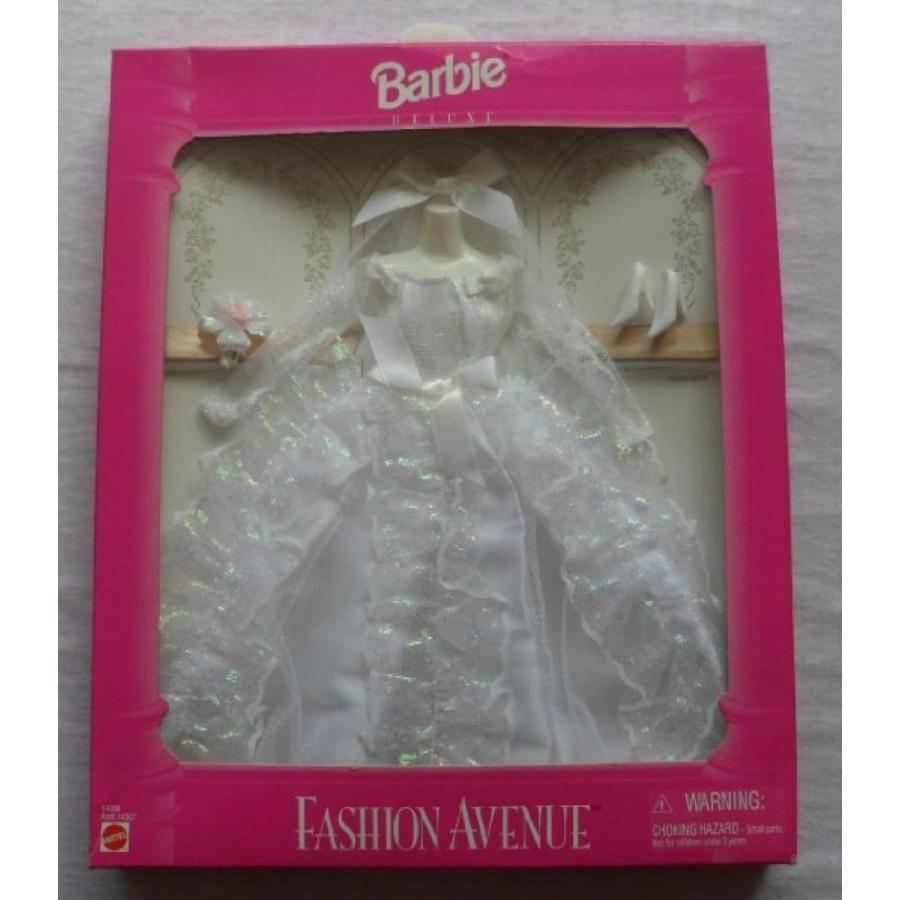 バービー人形 おもちゃ 着せ替え Barbie Fashion Avenue Wedding Gown 1995 mint in box 輸入品