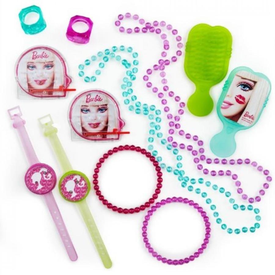 バービー人形 着せ替え おもちゃ Barbie All Dolled Up Favor Pack, 11-1/2 x 9 Inches, Mega Value, 48-Piece 輸入品