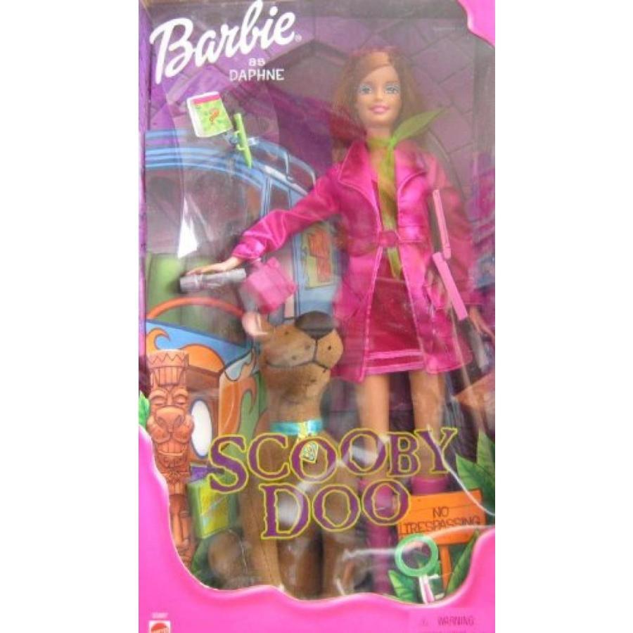 バービー人形 おもちゃ 着せ替え Scooby Doo Barbie as Daphne Doll (2001) 輸入品