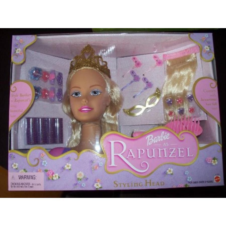 バービー人形 おもちゃ 着せ替え Barbie As Rapunzel Styling Head 輸入品