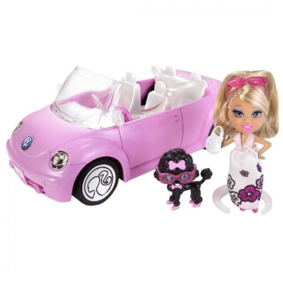 バービー人形 着せ替え おもちゃ Barbie Mini B Convertible VW Beetle Car and Doll 輸入品
