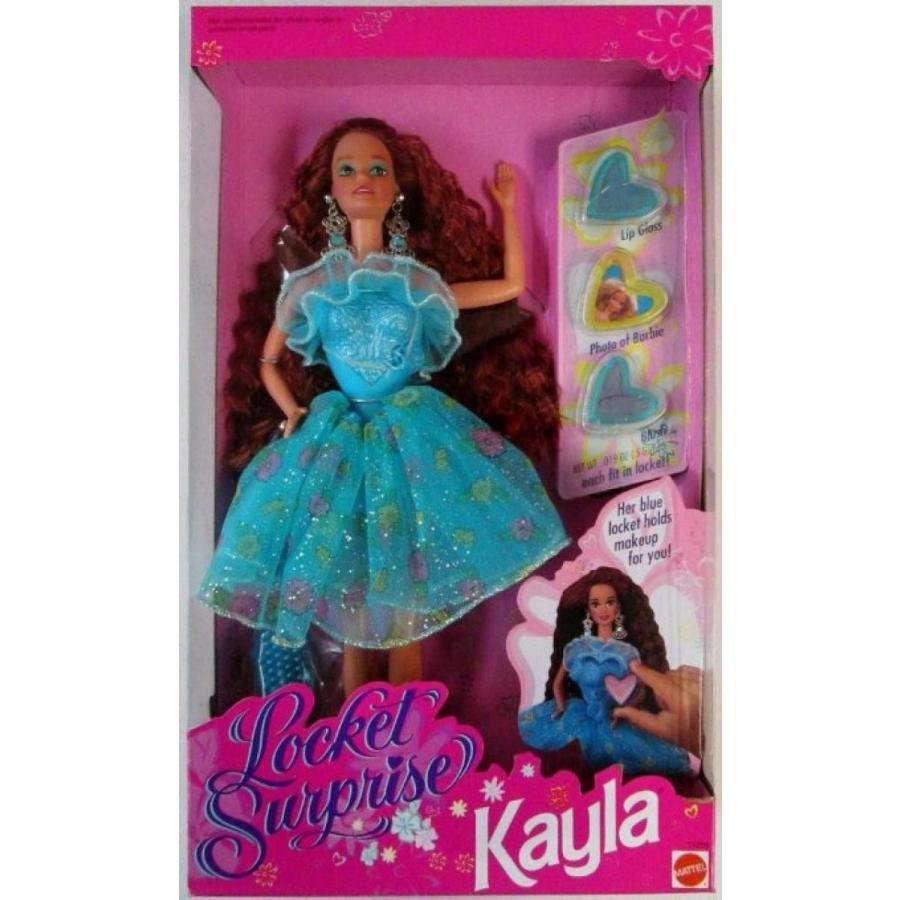 バービー人形 おもちゃ 着せ替え Locket Surprise Kayla 輸入品