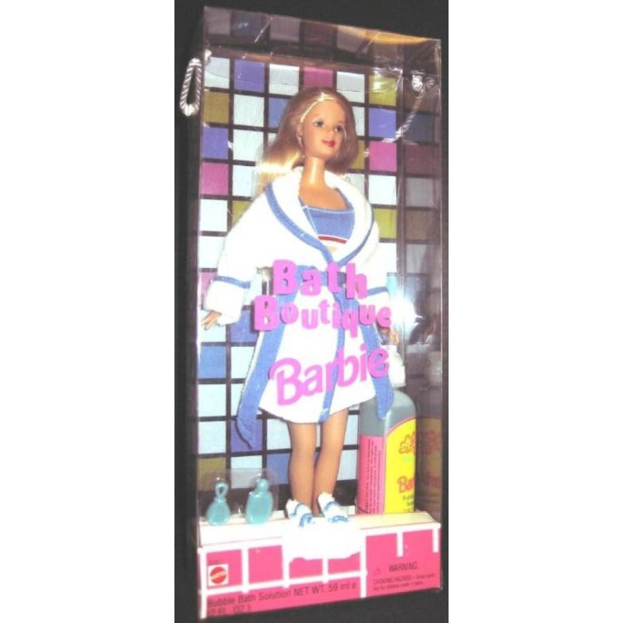 バービー人形 着せ替え おもちゃ 1998 Bath Boutique Barbie Doll with Bubble Bath 輸入品