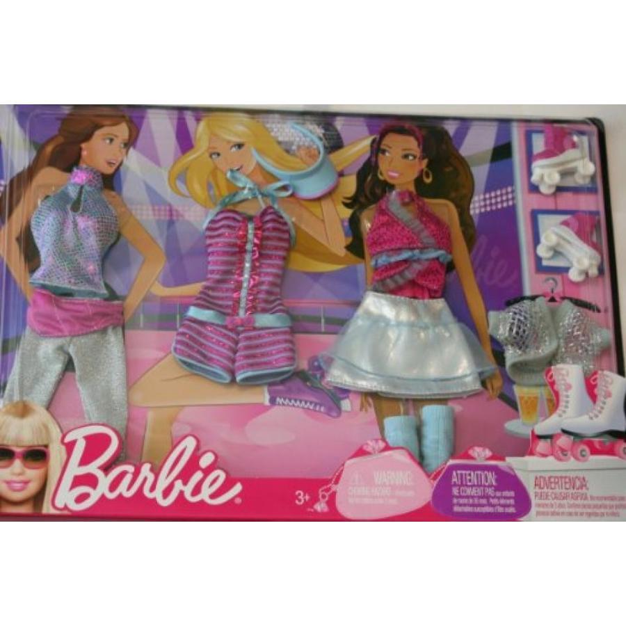 バービー人形 おもちゃ 着せ替え Barbie Fashion Doll Clothes - Roller Skating! 輸入品