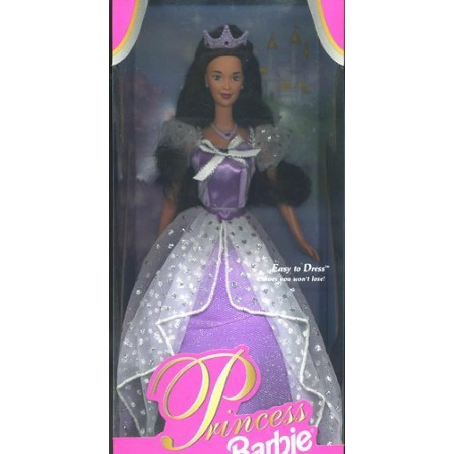 バービー人形 着せ替え おもちゃ Your Very First Royal Princess Barbie Easy to Dress! 輸入品