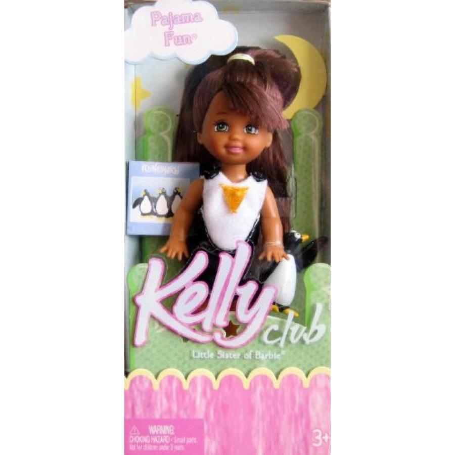 バービー人形 おもちゃ 着せ替え Barbie Kelly Pajama Fun KEEYA Doll AA (2004) 輸入品