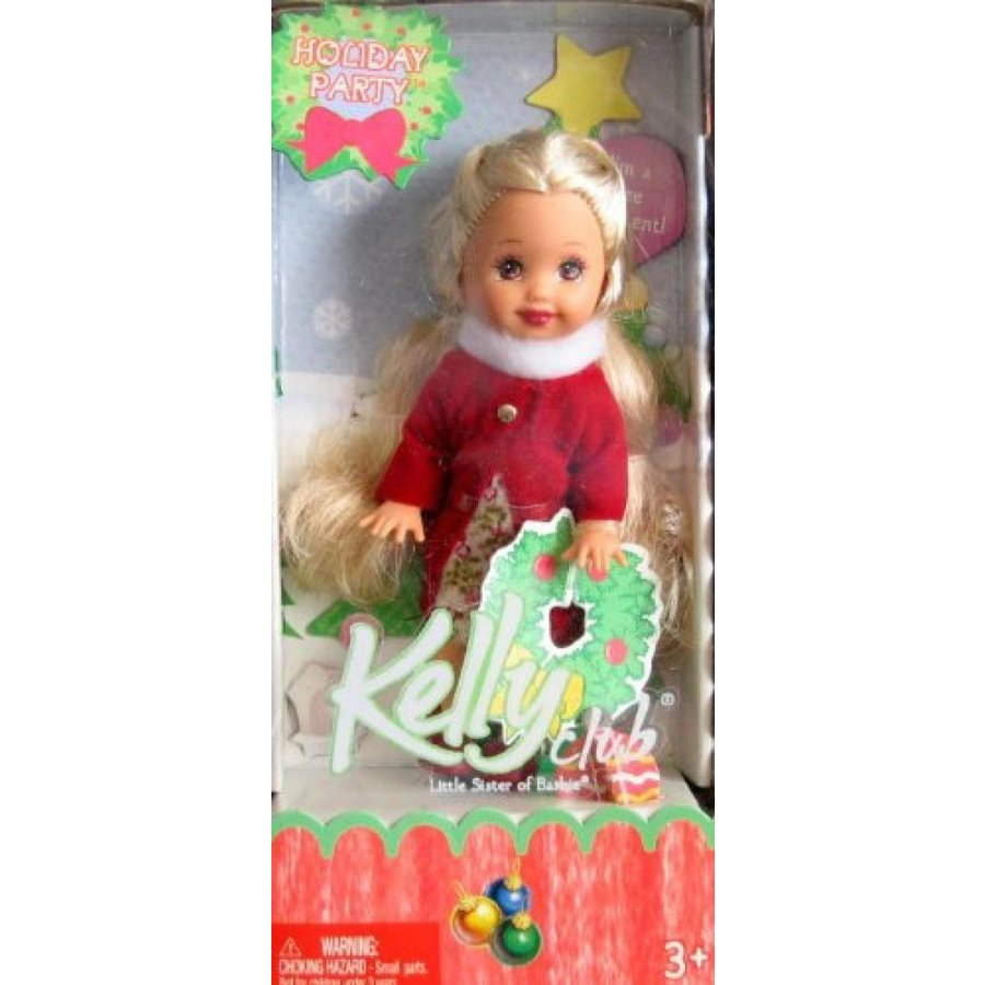 バービー人形 着せ替え おもちゃ Barbie Kelly Holiday Party KERSTIE Doll Tree Ornament (2005) 輸入品