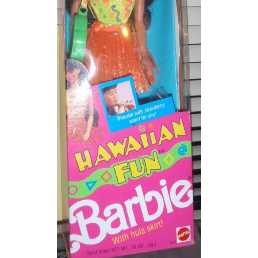 バービー人形 おもちゃ 着せ替え Hawaiian Fun Barbie / Kira with Hula Skirt and strawberry scent 輸入品