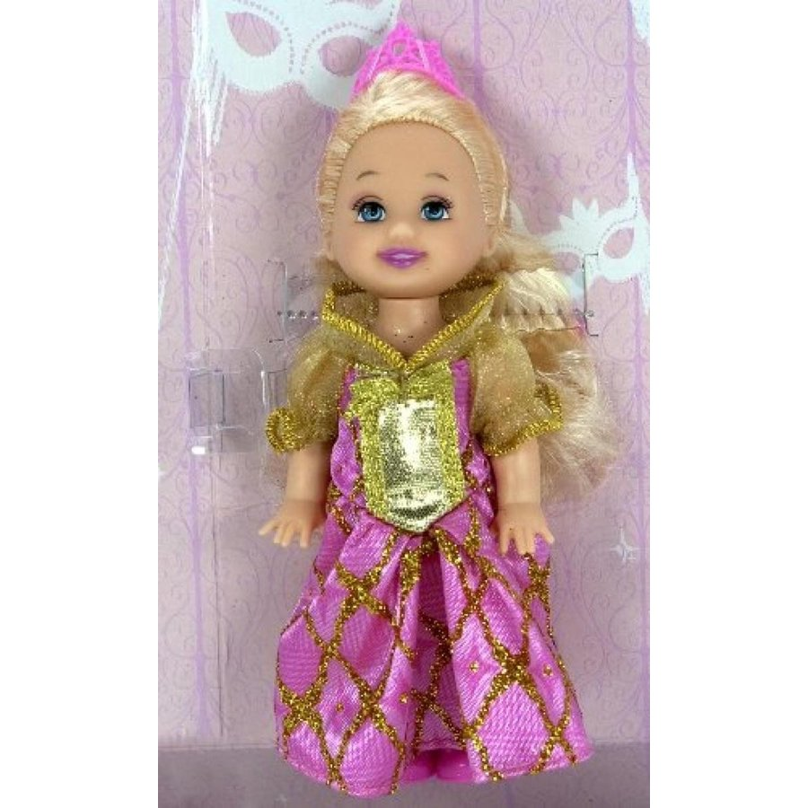 バービー人形 着せ替え おもちゃ Barbie Little Princess Kelly ~4