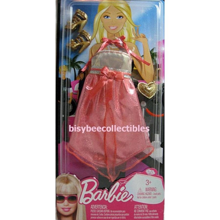 バービー人形 着せ替え おもちゃ Barbie Fashion Peach Dress 輸入品