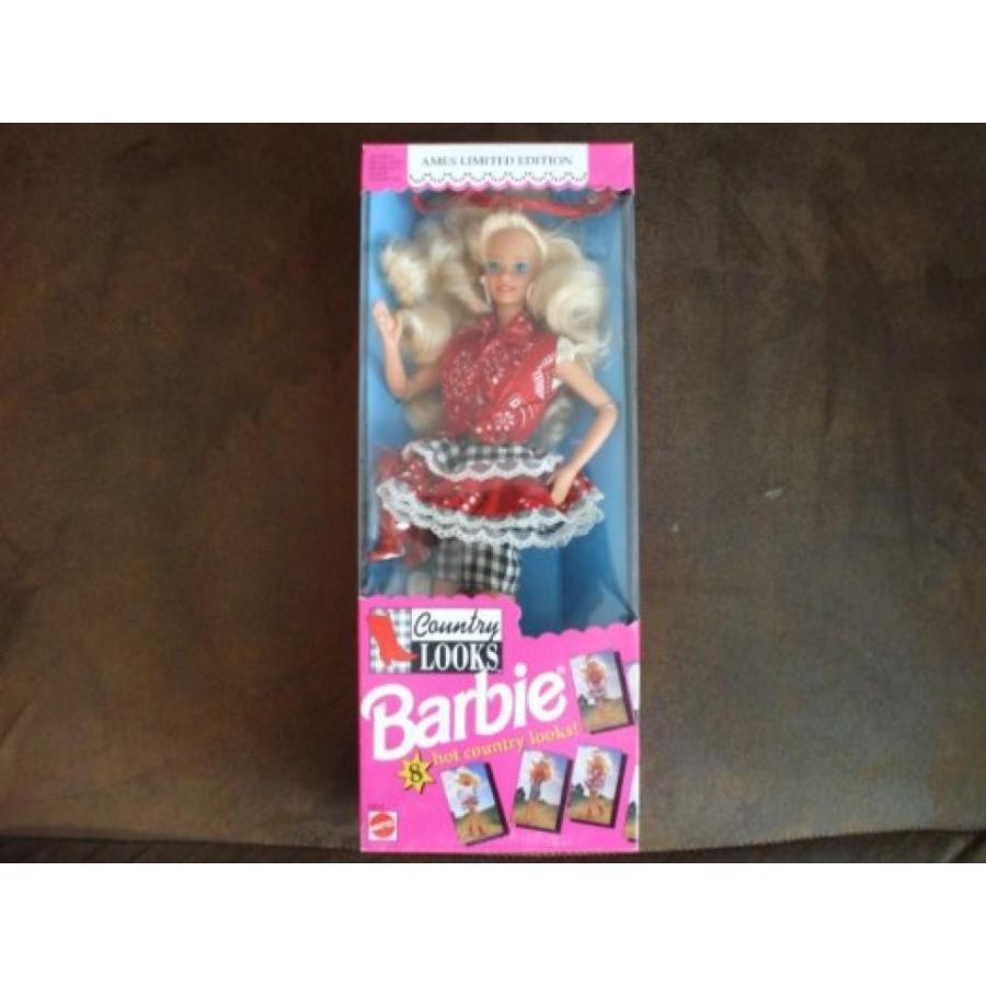 バービー人形 おもちゃ 着せ替え Ames Limited Edition 1992 Country Looks Barbie Doll Mint in Box 輸入品