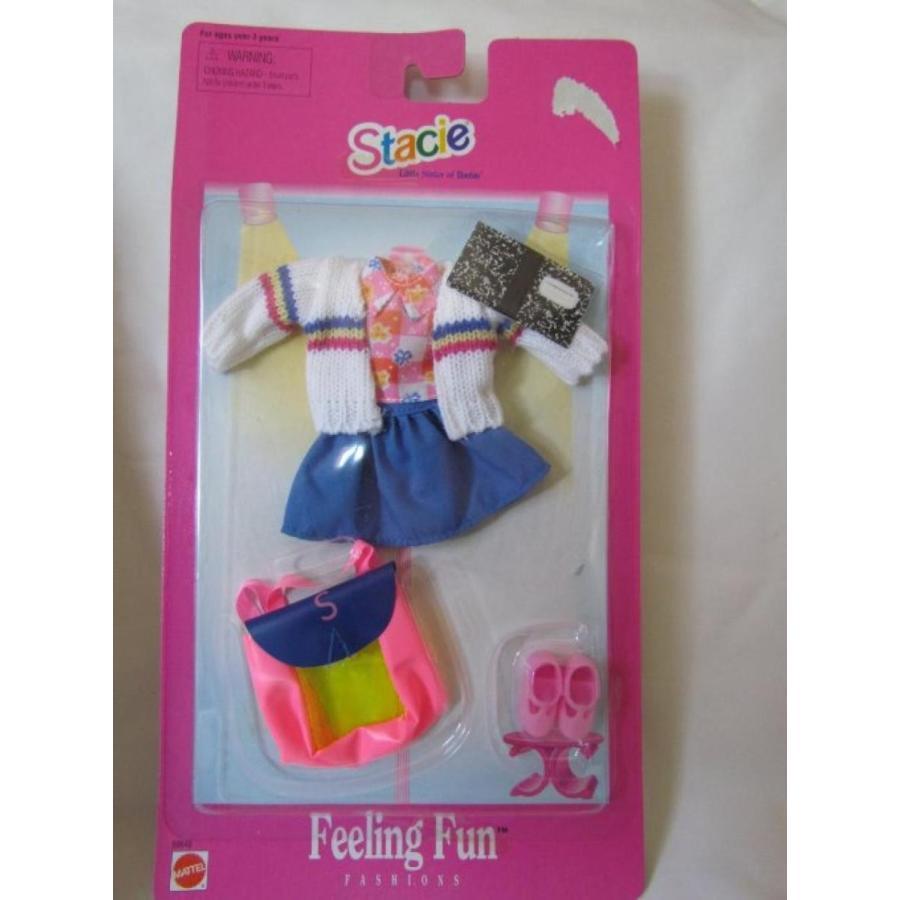 バービー人形 おもちゃ 着せ替え 1997 Stacie Feeling Fun School Outfit 輸入品