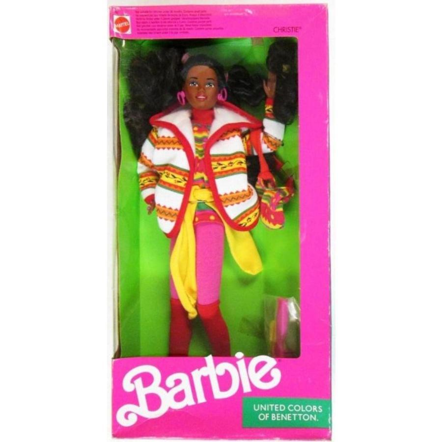 バービー人形 着せ替え おもちゃ Barbie Doll Benetton Christie New in Box 1990 輸入品