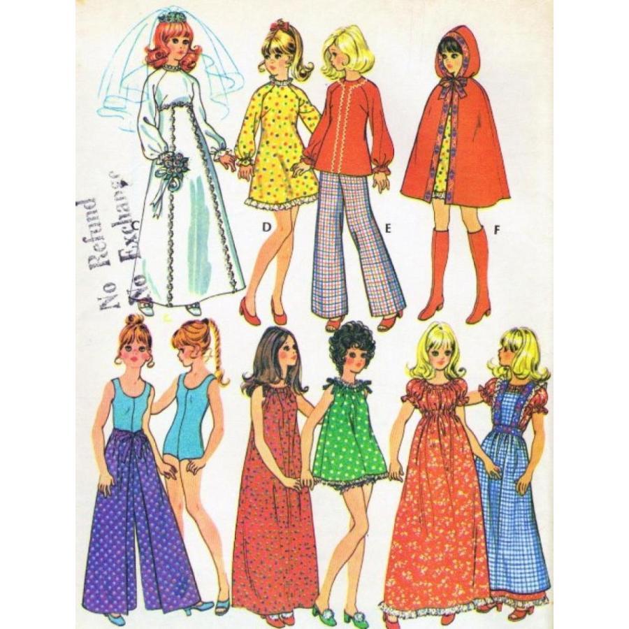 バービー人形 おもちゃ 着せ替え McCalls 3429 Barbie or Fashion Doll 11 1/2