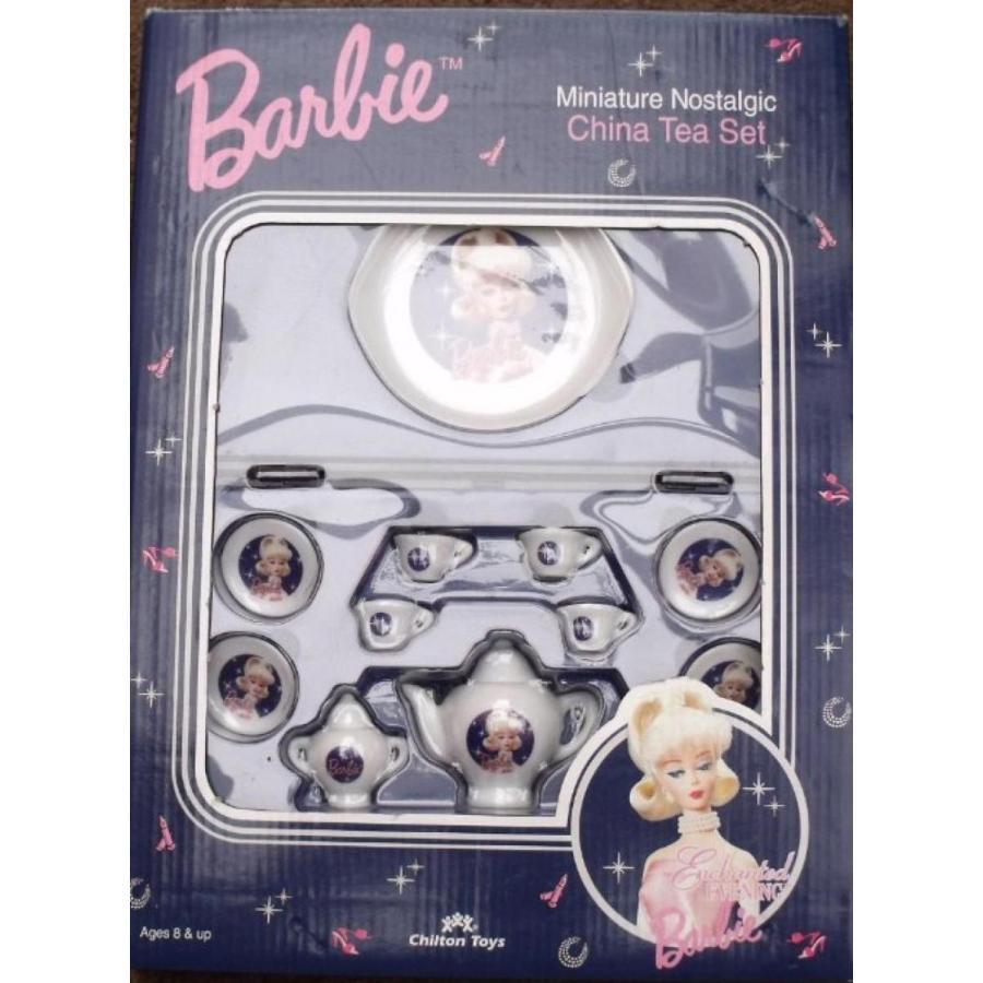 バービー人形 着せ替え おもちゃ Barbie - Enchanted Evening - Miniature Nostalgic China Tea Set 輸入品