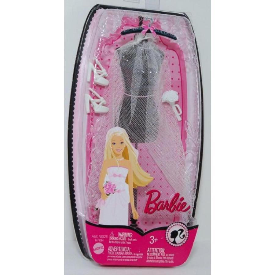バービー人形 おもちゃ 着せ替え Barbie Wedding Veil, Shoes, Tiara and Bouquet 輸入品