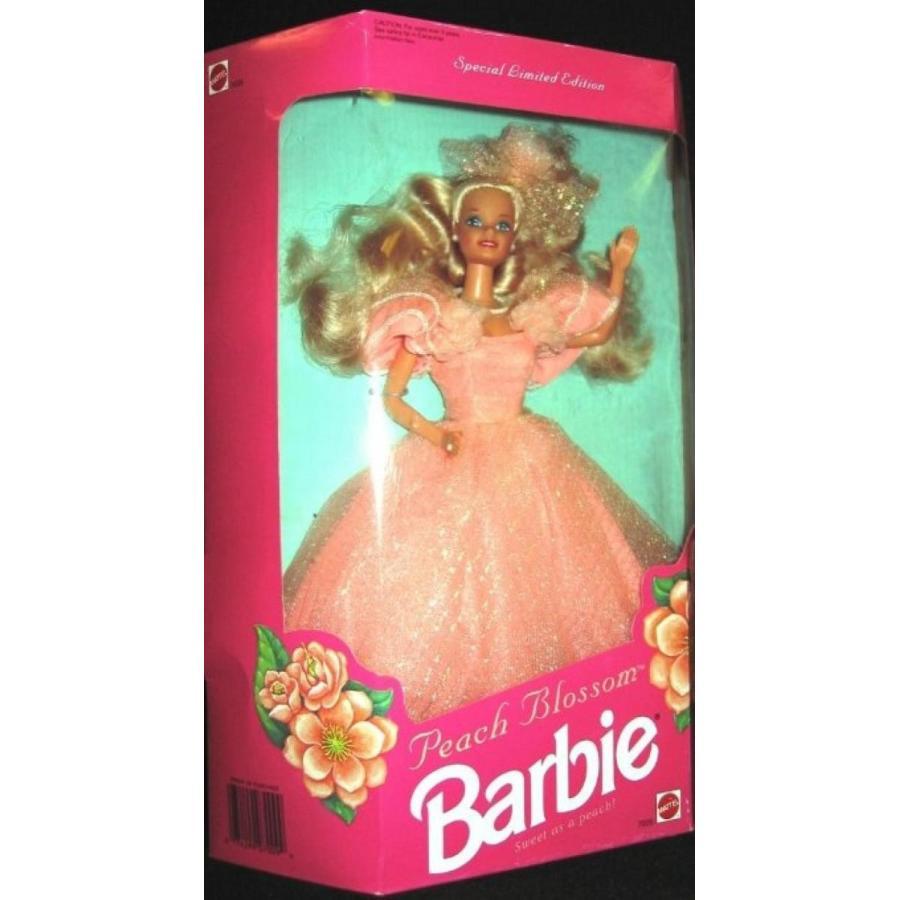 バービー人形 おもちゃ 着せ替え PEACH BLOSSOM BARBIE, SPECIAL LIMITED EDITION, 1992 EDITIO