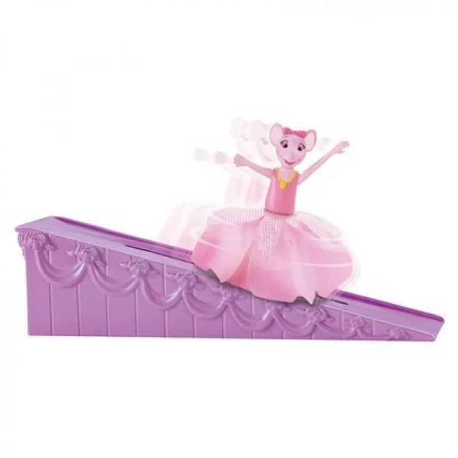 バービー人形 着せ替え おもちゃ Fisher-Price Angelina Ballerina - Spinning Stars Angelina 輸入品