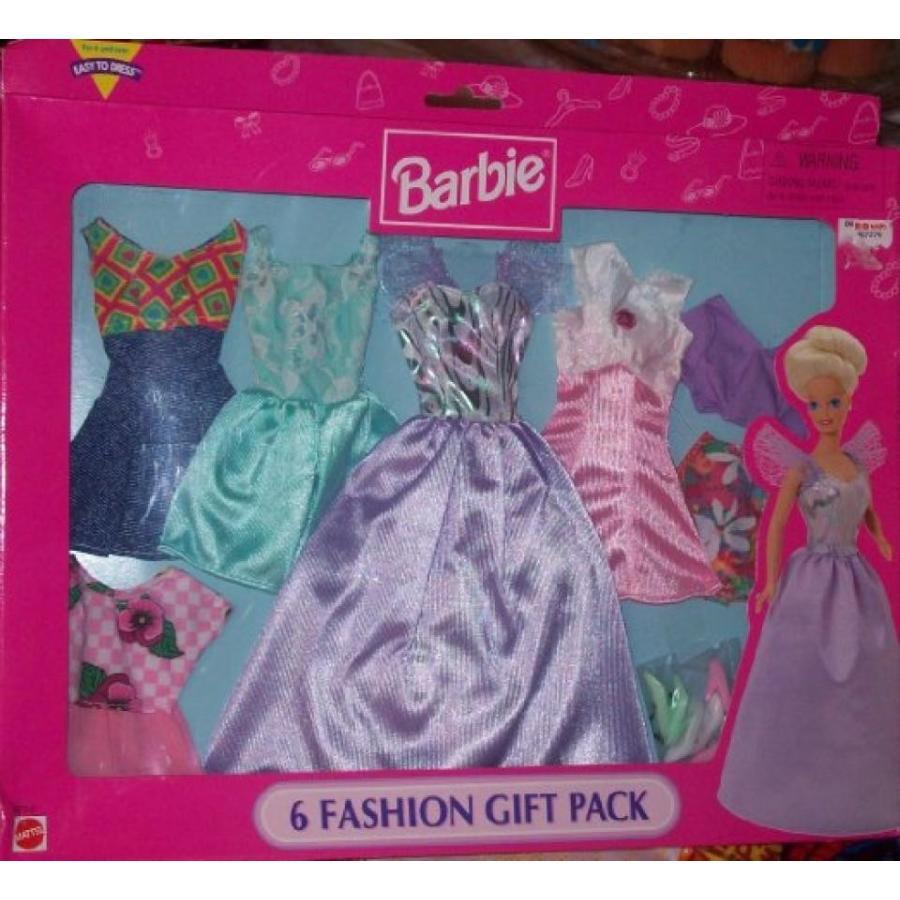 バービー人形 おもちゃ 着せ替え Barbie 6 Fashion Gift Pack 輸入品