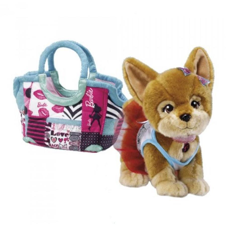 バービー人形 おもちゃ 着せ替え Barbie Pets Lacey (Chihuahua) with Patchwork Bag and Dress 輸入品