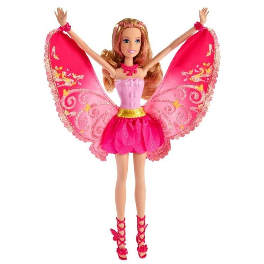 バービー人形 着せ替え おもちゃ Barbie A Fairy Secret Fashion Fairy Friend Blonde Doll 輸入品