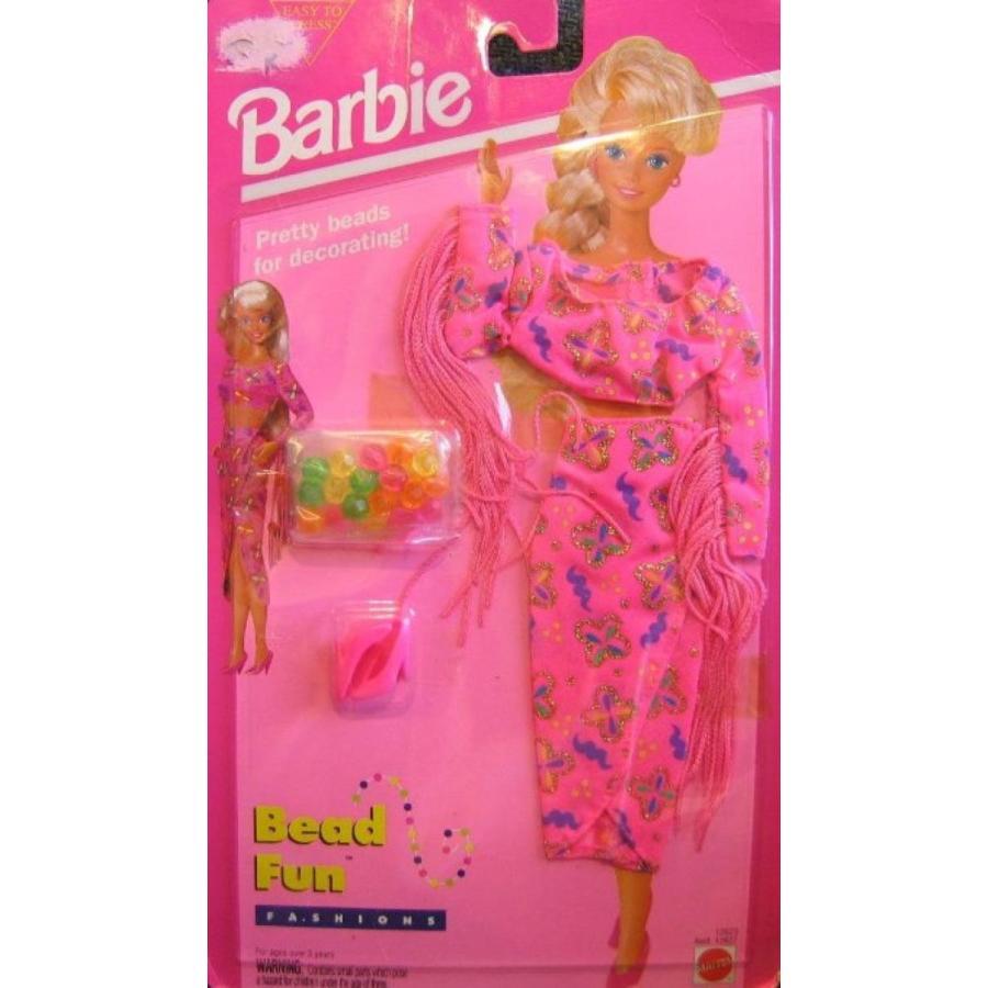 バービー人形 おもちゃ 着せ替え Barbie Bead Fun Fashions w Beads to Decorate (Easy to Dress 1994) 輸入品