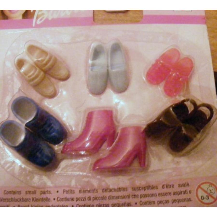 バービー人形 着せ替え おもちゃ Barbie Little Extras Casual Shoe Package (1999) 輸入品