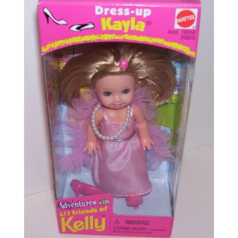 バービー人形 着せ替え おもちゃ Adventures with Kelly Barbie Doll Friend Dress up Kayla 輸入品