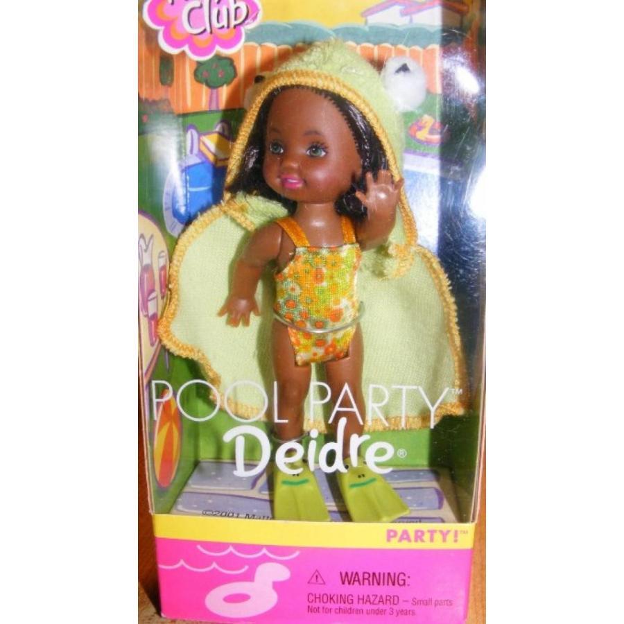 バービー人形 着せ替え おもちゃ Kelly Doll Pool Party Deidre (2001) 輸入品
