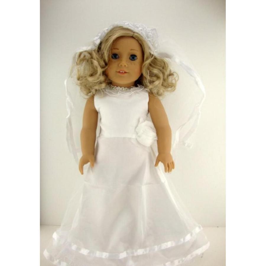 バービー人形 着せ替え おもちゃ A 黄 Gown Made with Eyelet Lace Made to Fit the Barbie Doll 輸入品