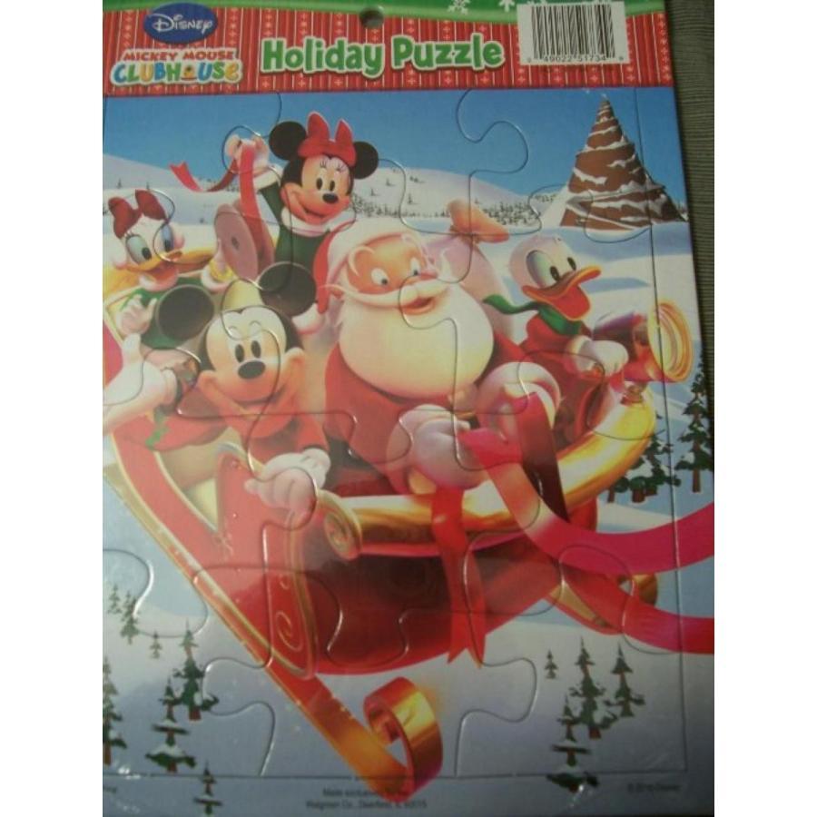 バービー人形 着せ替え おもちゃ Disney Mickey Mouse Clubhouse Holiday Puzzle 輸入品