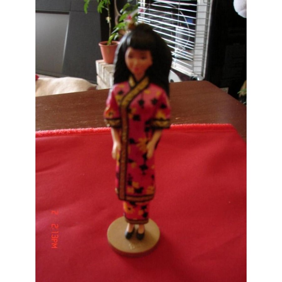 バービー人形 着せ替え おもちゃ Hallmark Dolls of the World Chinese Barbie Christmas Ornament 1997 輸入品