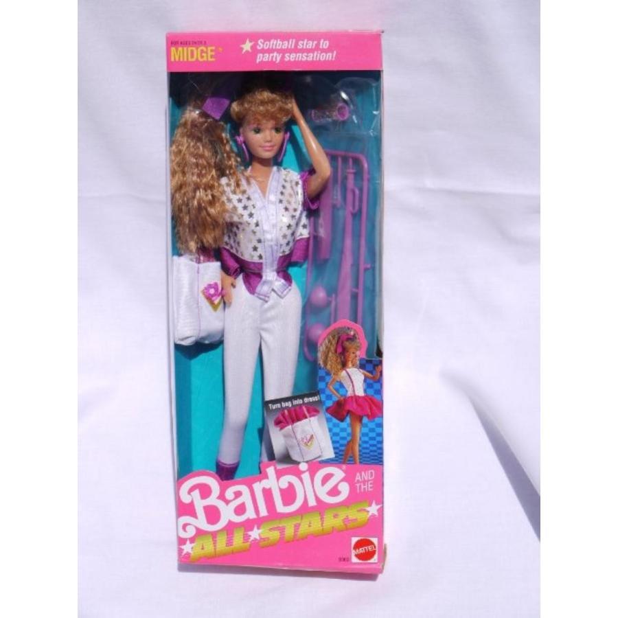 バービー人形 おもちゃ 着せ替え Midge Barbie and the All Stars - 1989 輸入品