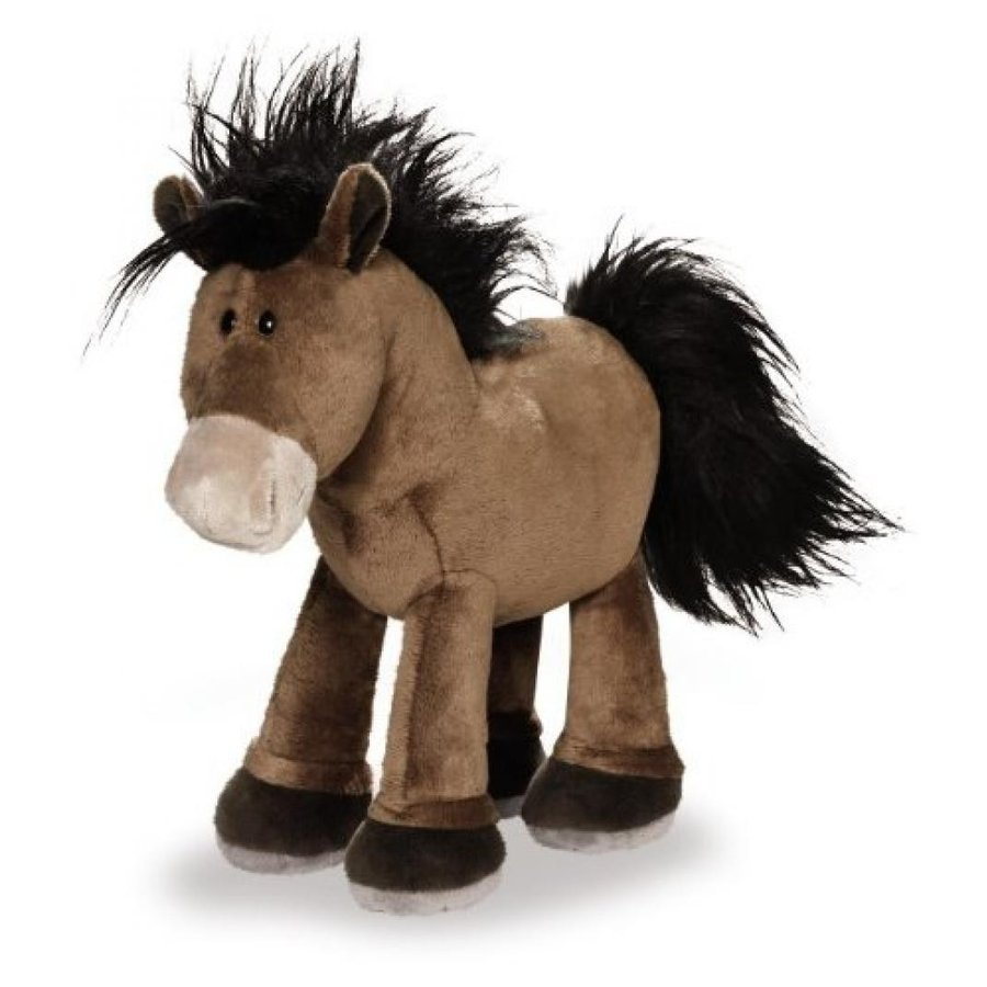 アナと雪の女王 おもちゃ フィギュア Pony / Horse 褐色 25 Cm, Plush, Standing, By Nici / Nici Horse Club 輸入品