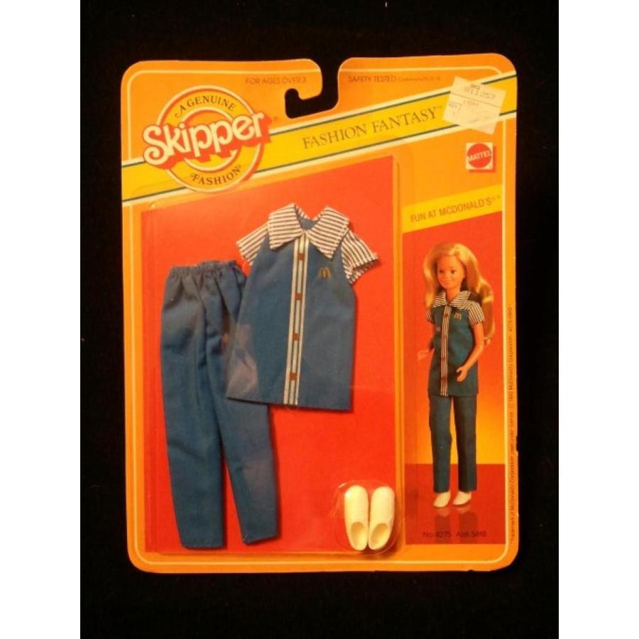 バービー人形 おもちゃ 着せ替え Barbie's Skipper Fun At Mcdonald's Fashion Fantasy Outfit 輸入品