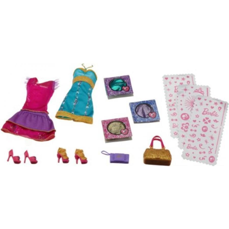 バービー人形 着せ替え おもちゃ Barbie Glitter Glam Fashions 輸入品