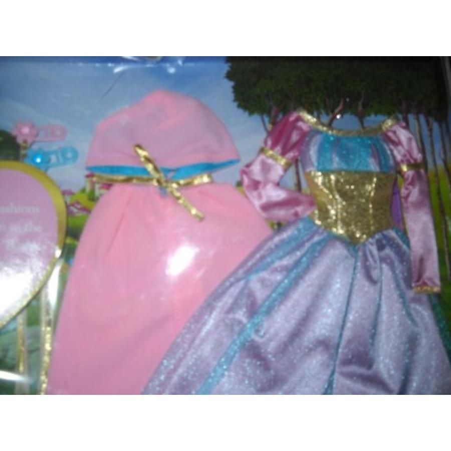 バービー人形 おもちゃ 着せ替え Barbie As Rapunzel Gown and Cape Fashion Set 輸入品