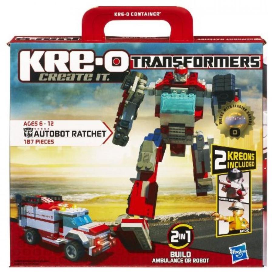 トランスフォーマー おもちゃ 変形 合体ロボ KRE-O Transformers Autobot Ratchet Construction Set (30662) 輸入品