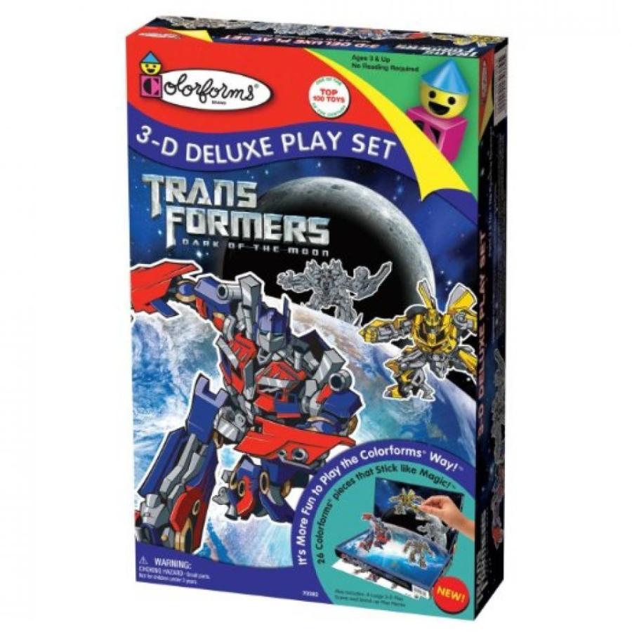 トランスフォーマー おもちゃ 変形 合体ロボ Colorforms 3D Deluxe Play Set Transformers - Dark of the Moon 輸入品