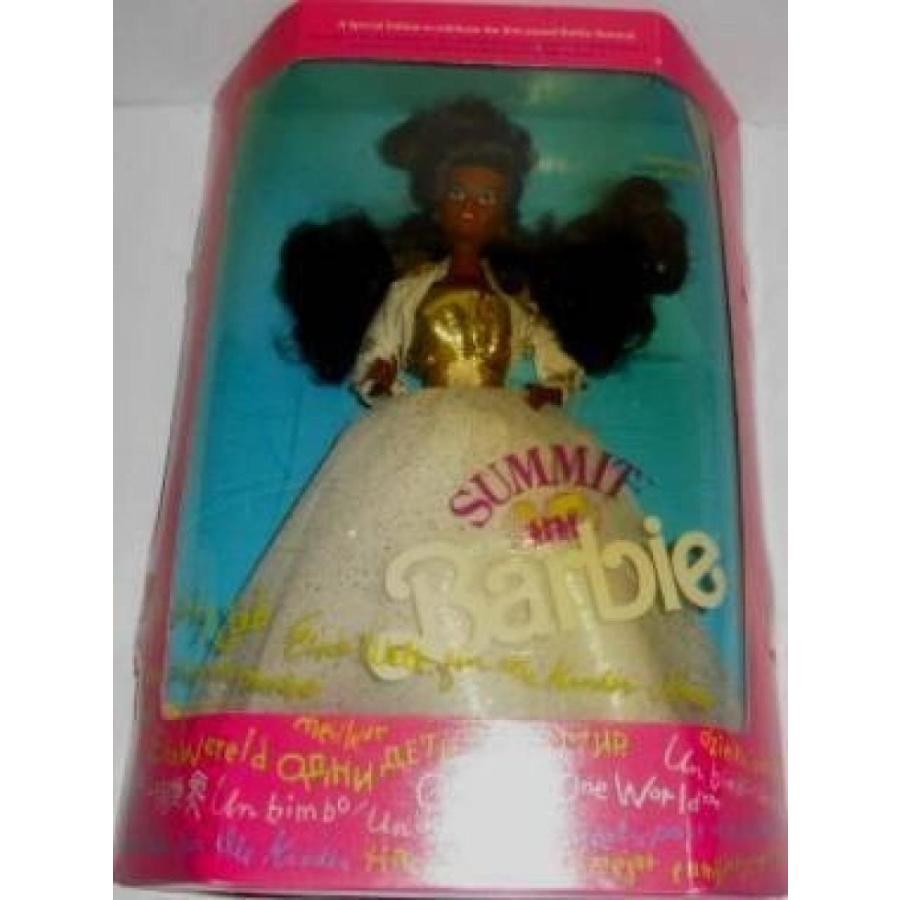 バービー人形 着せ替え おもちゃ Summit Barbie - 黒 (1990) 輸入品