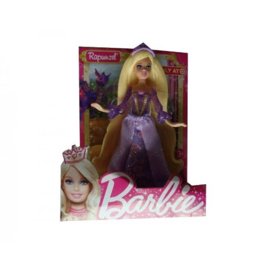 バービー人形 おもちゃ 着せ替え Barbie RAPUNZEL 4-Inch Doll Figure Exclusive (紫の gown,