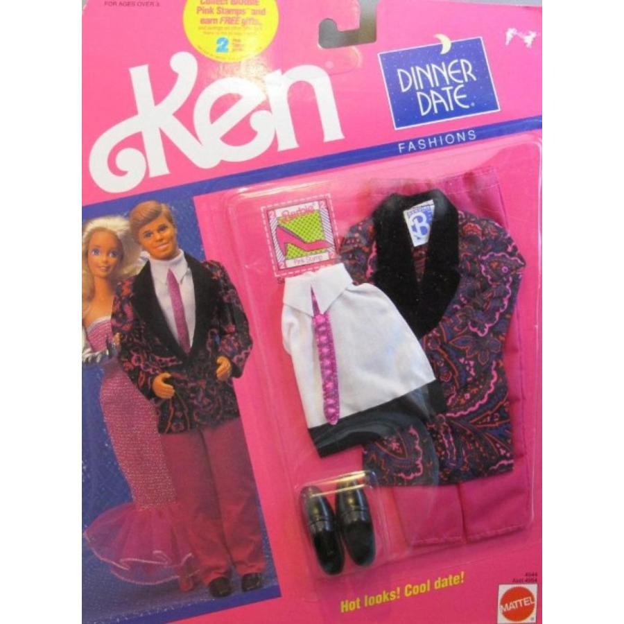 バービー人形 おもちゃ 着せ替え Barbie KEN Dinner Date Fashions - Hot Looks! Cool Date! (1990) 輸入品