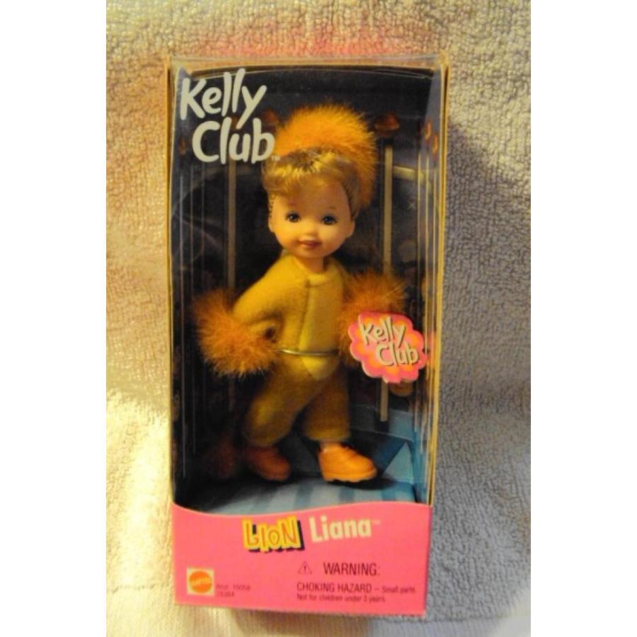 バービー人形 着せ替え おもちゃ Barbie Kelly Club Lion Liana Doll 輸入品