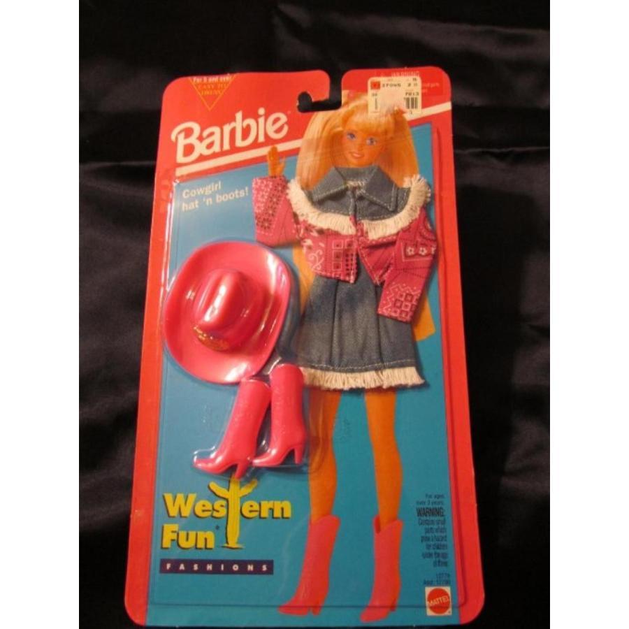 バービー人形 おもちゃ 着せ替え Barbie Fashion Outfit Western ピンク Mint on card 1994 輸入品