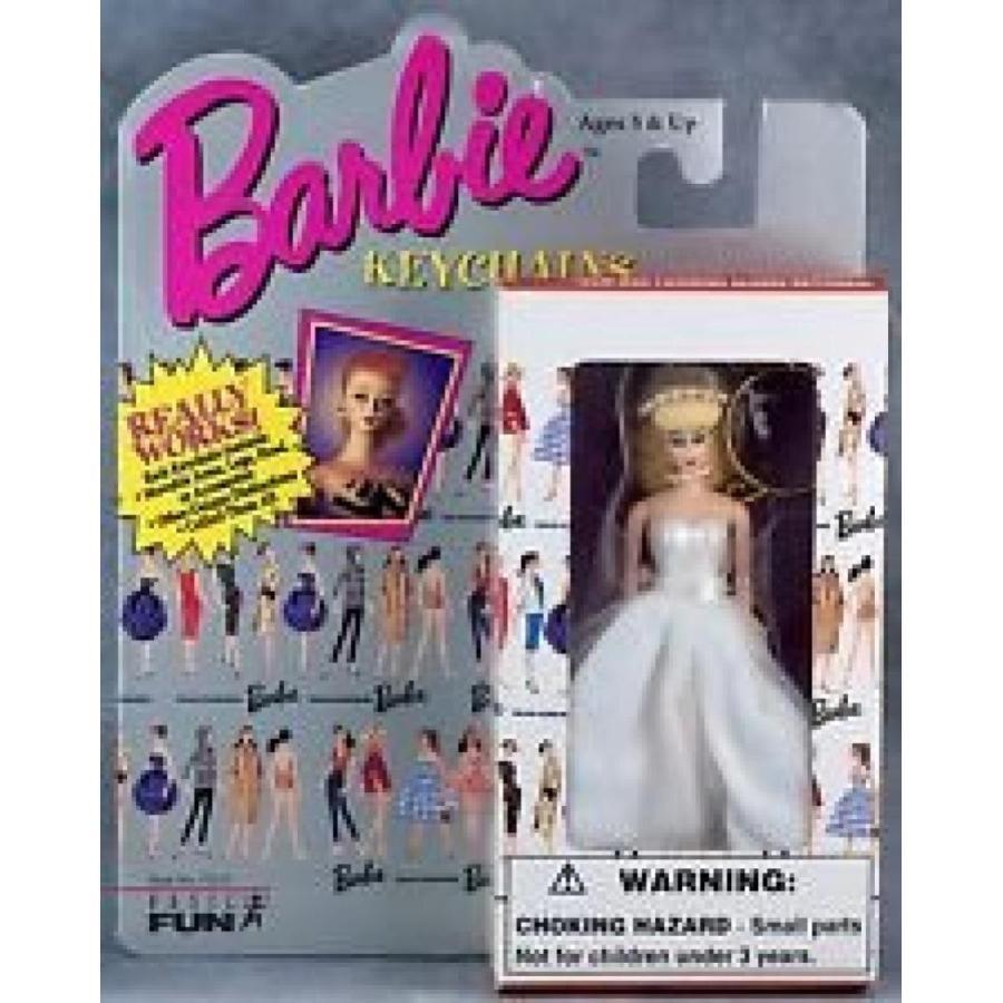 バービー人形 着せ替え おもちゃ Barbie Bride Keychain 輸入品